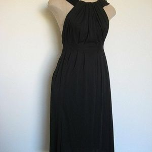 Gucci Black Dress Size 38 Halter Neck Made in Ital